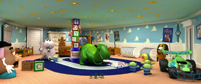 Oceaneer Club - Andy's Room - Photo courtesy of Disney Cruise Line.