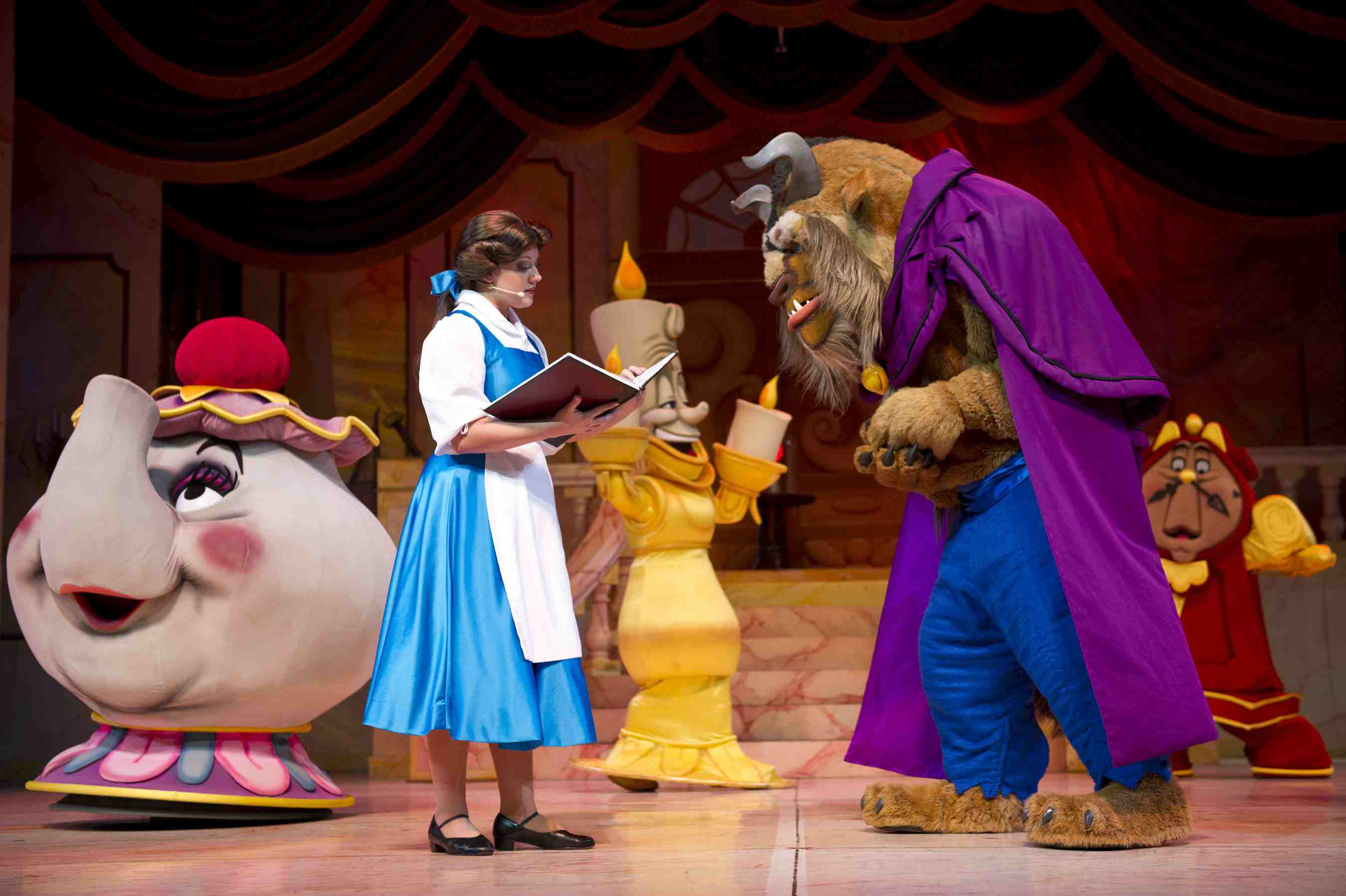 Beauty and the Beast Stage Show at Disney's Hollywood Studios