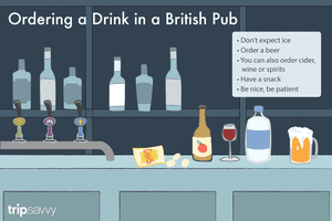 Ordering a Drink in a British Pub