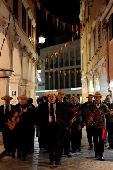 Musicians on Corfu