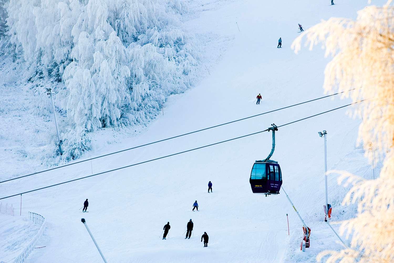 Bramas ski resort
