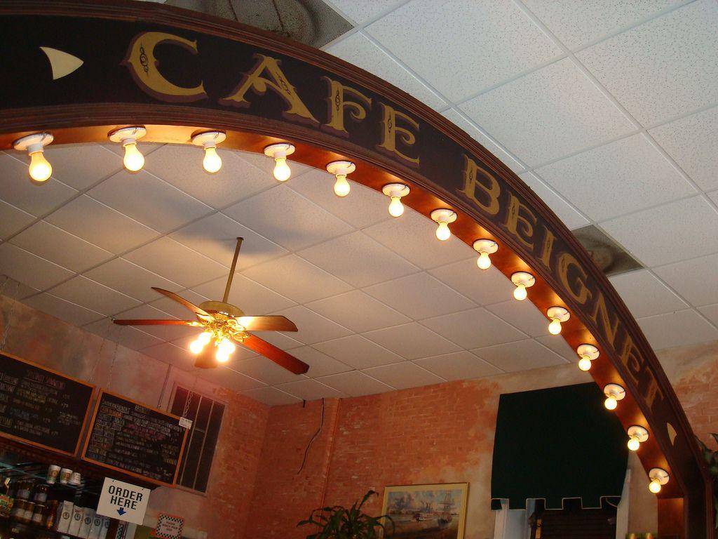 Sign at Cafe Beignet