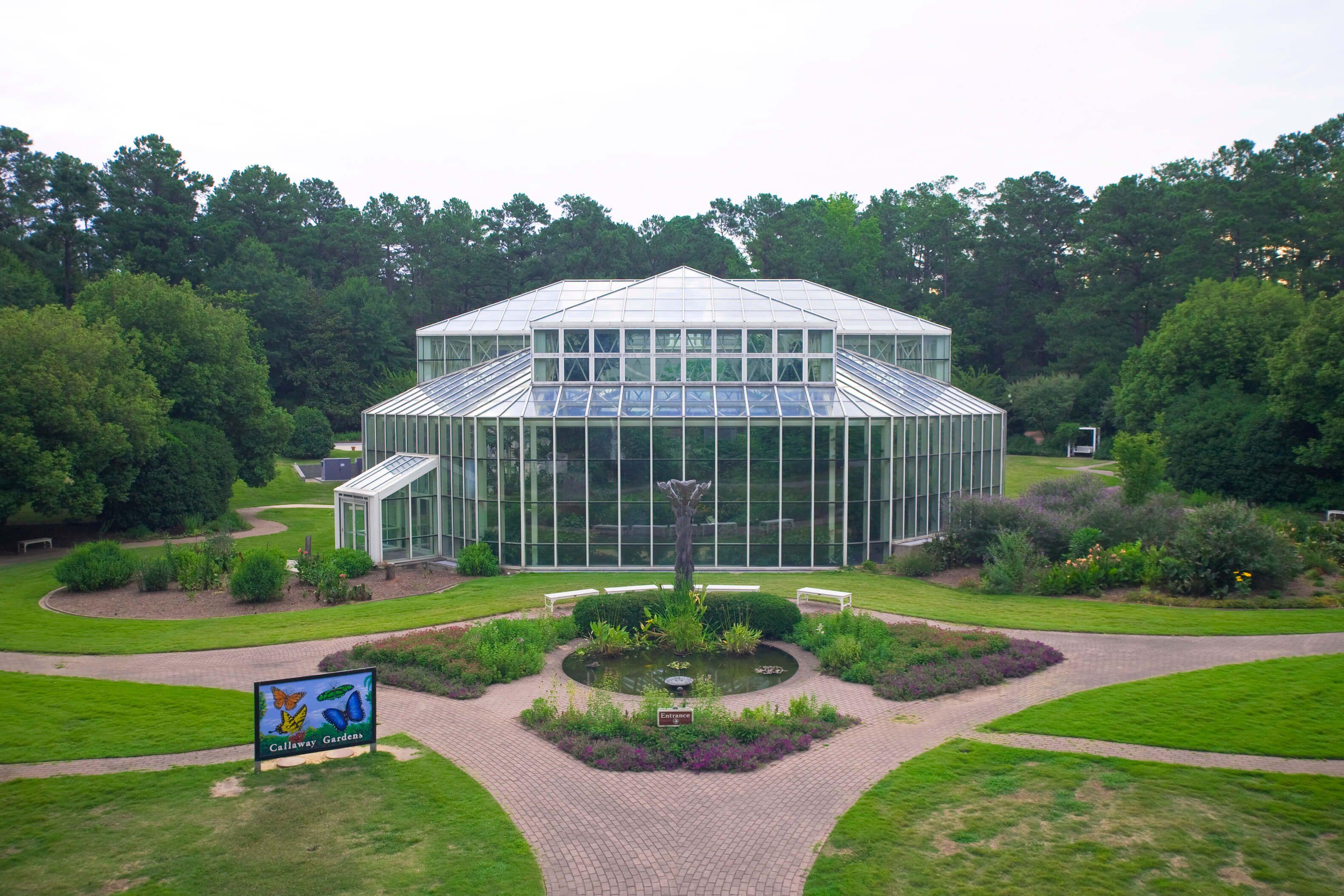 Callaway Resort & Gardens butterfly garden
