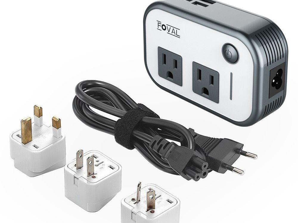 Power Plug Converter Useful Travel Adapter US to EU Europe High Power