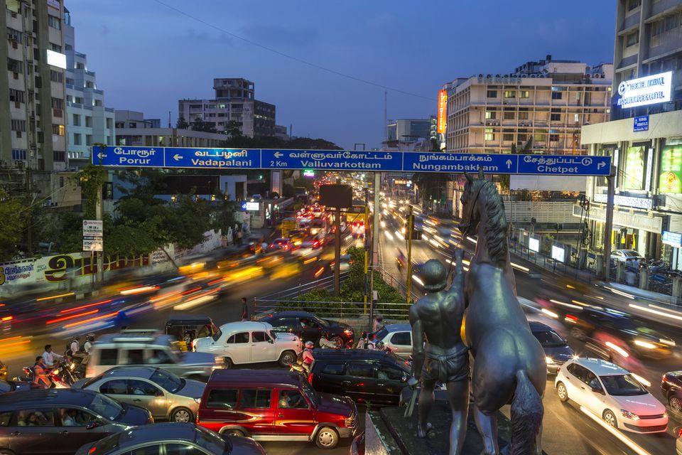 Chennai cityscape