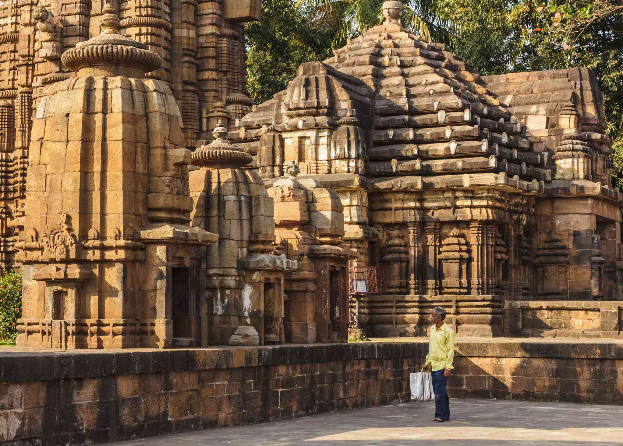 Temple in Bhubaneshwar, Odisha.