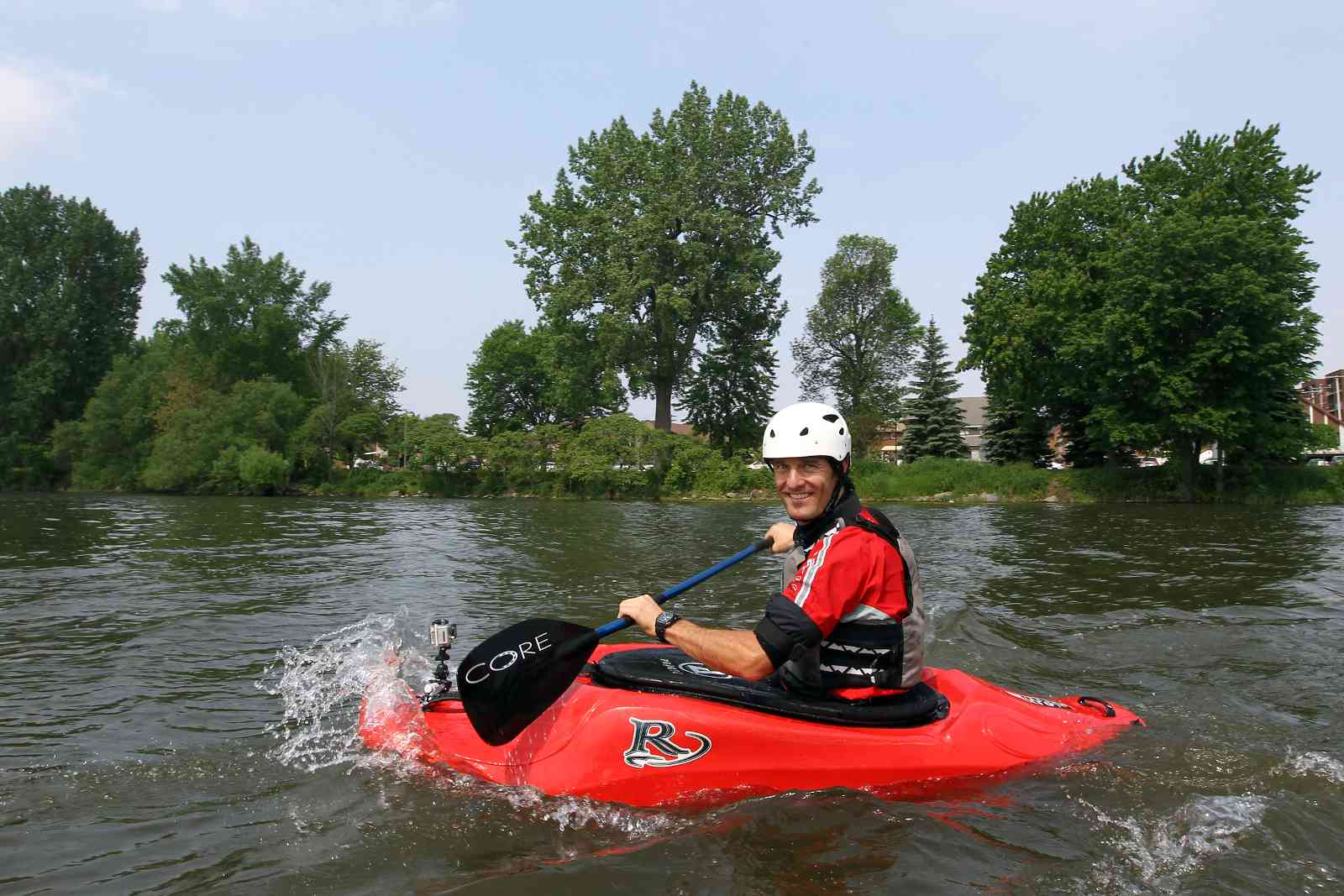kayaking the Lachine Canal