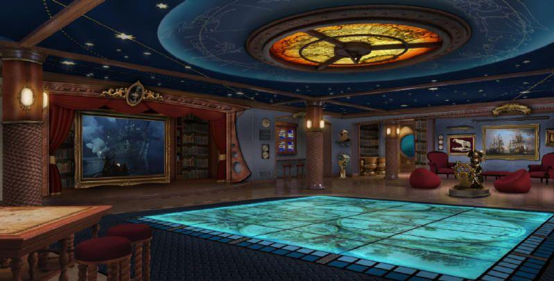 Oceaneer Lab - Photo courtesy of Disney Cruise Line.