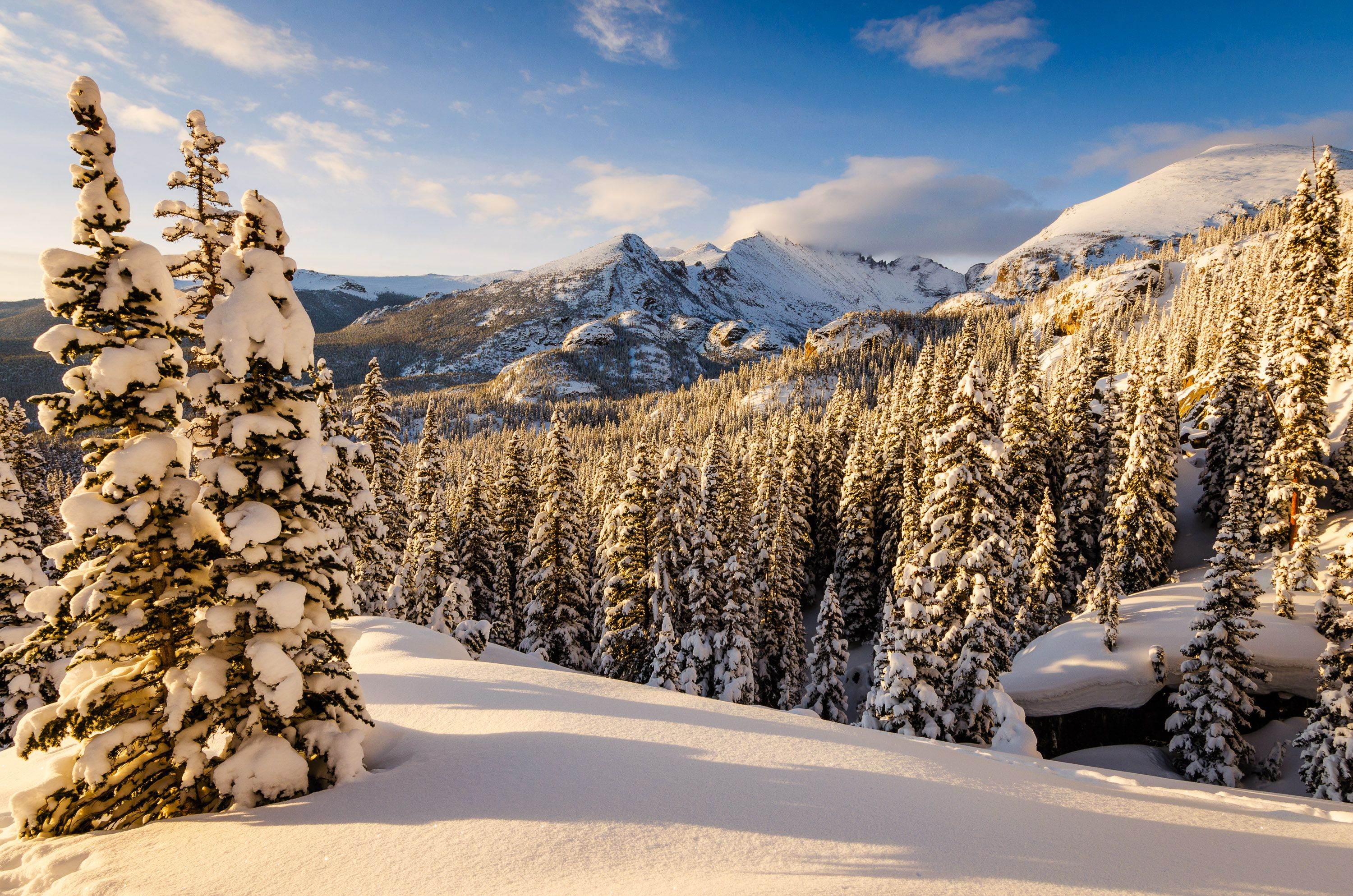 Christmas In Colorado Mountains.The Best National Parks To Visit For Christmas