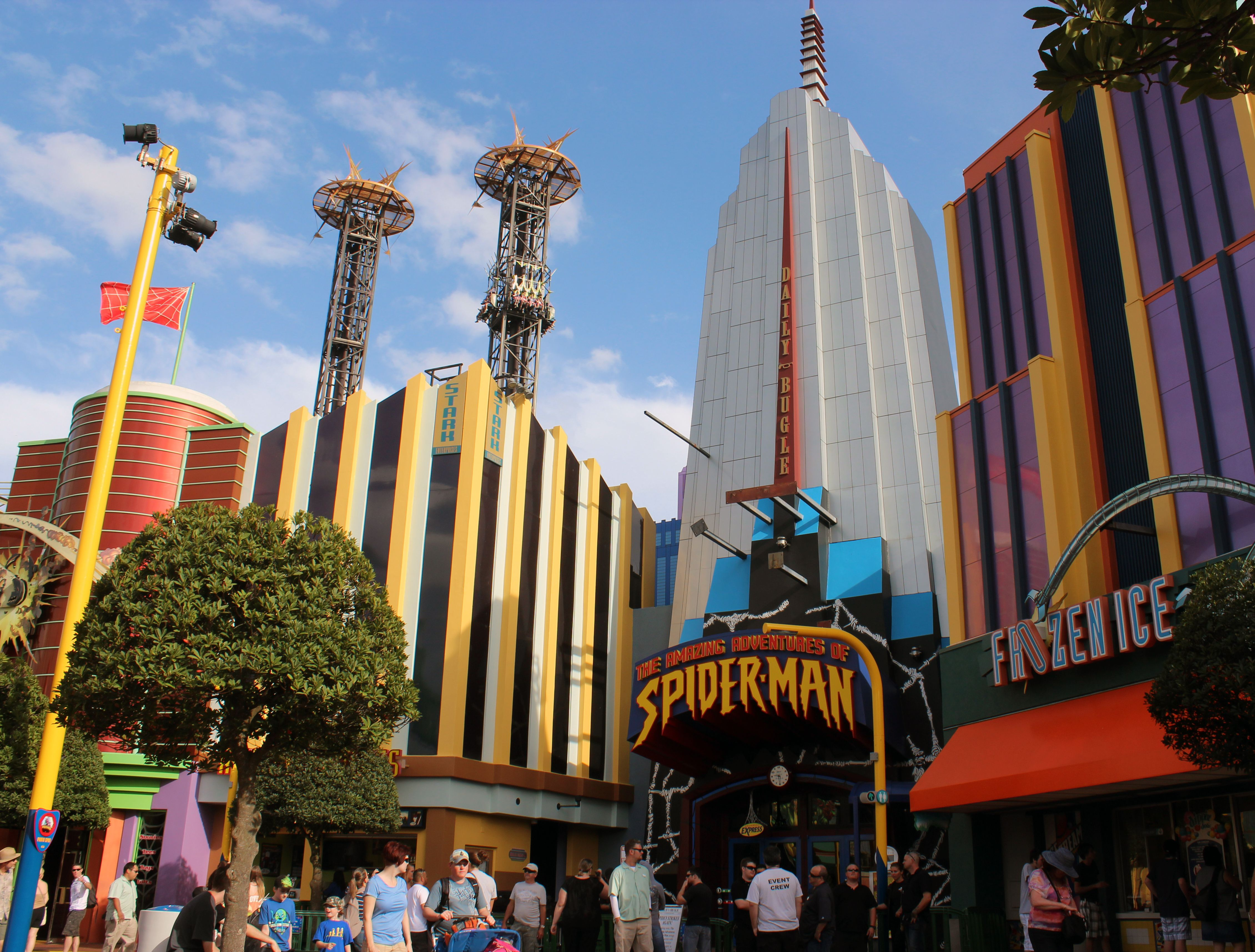 Spider-Man ride at Universal Orlando