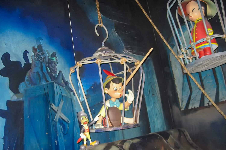 Scene from Pinocchio's Daring Journey