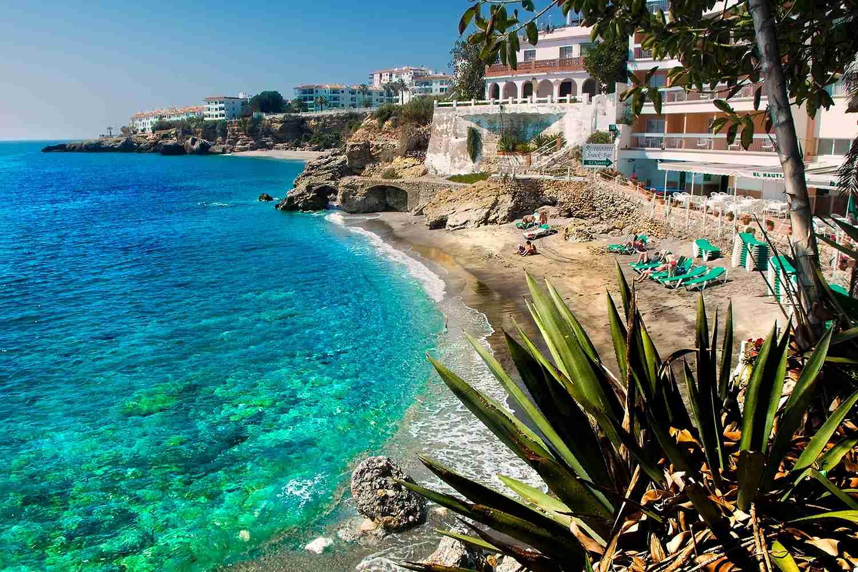 Nerja, Spain beach