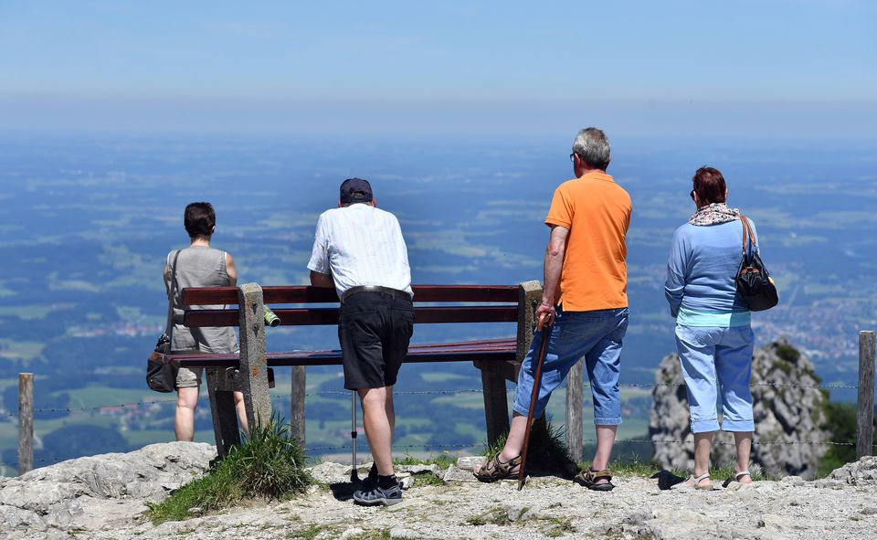senior travelers in Bavaria