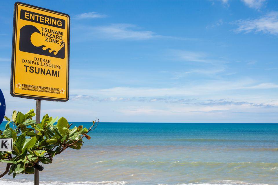 what to do when a tsunami strikes bali