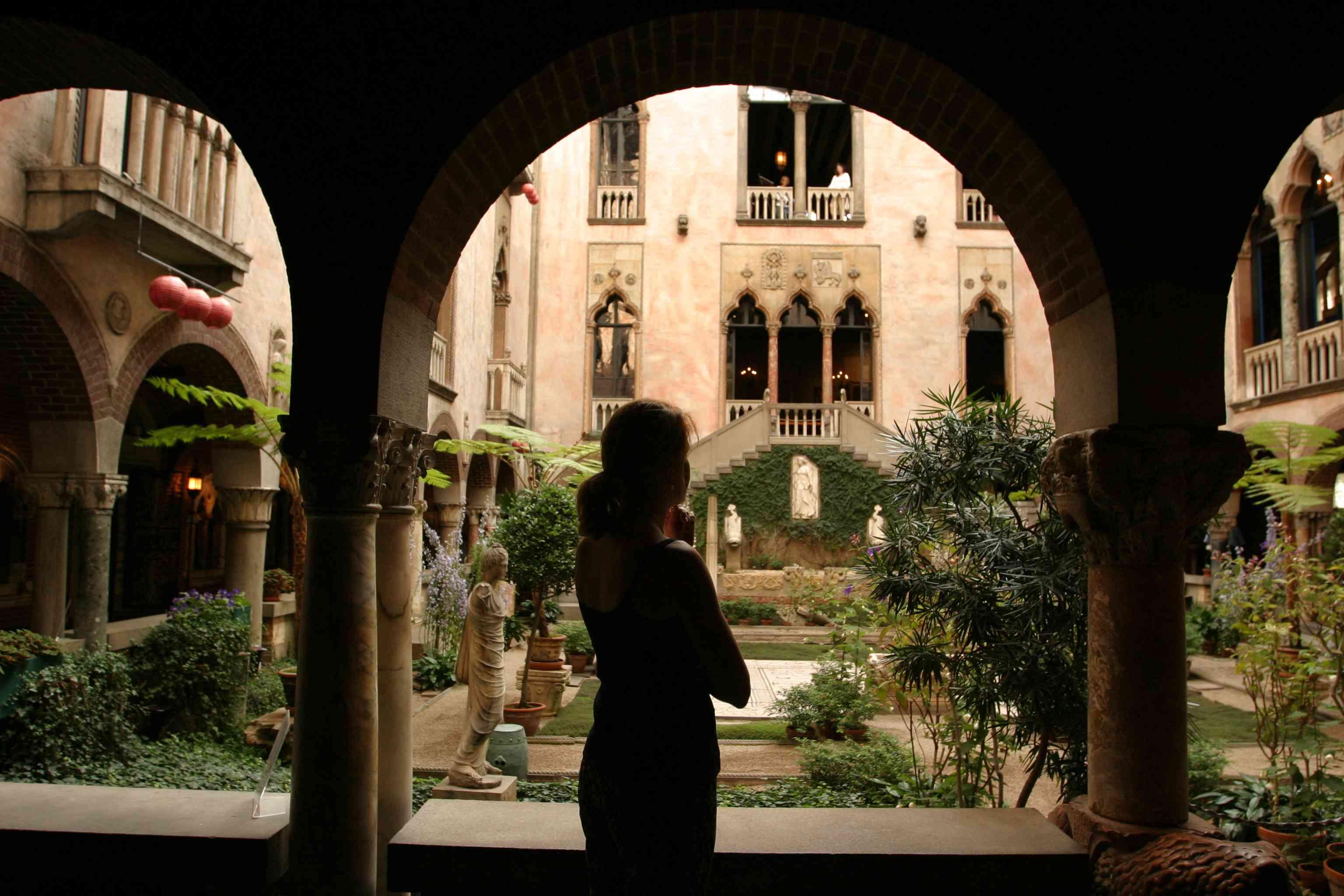 Isabella Stewart Gardner Museum interior courtyard