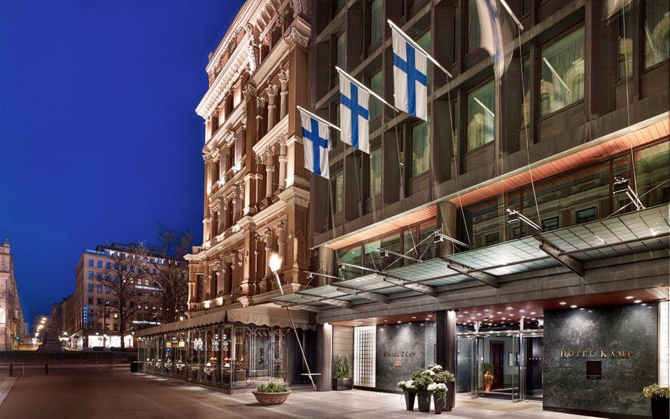 Hotel Kamp, the top luxury hotel in Helsinki, Finland