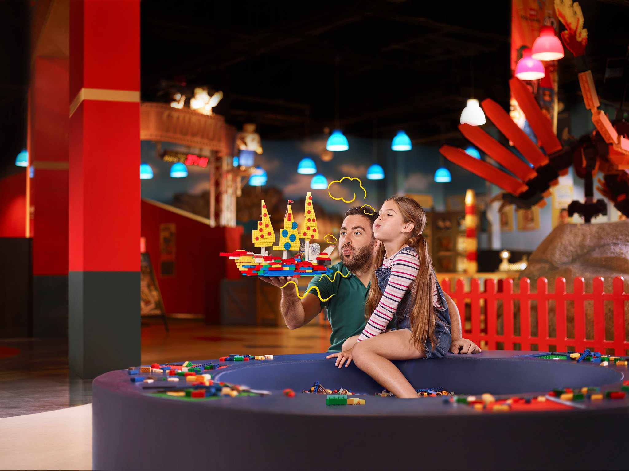 Legoland Discovery Center at American Dream in New Jersey