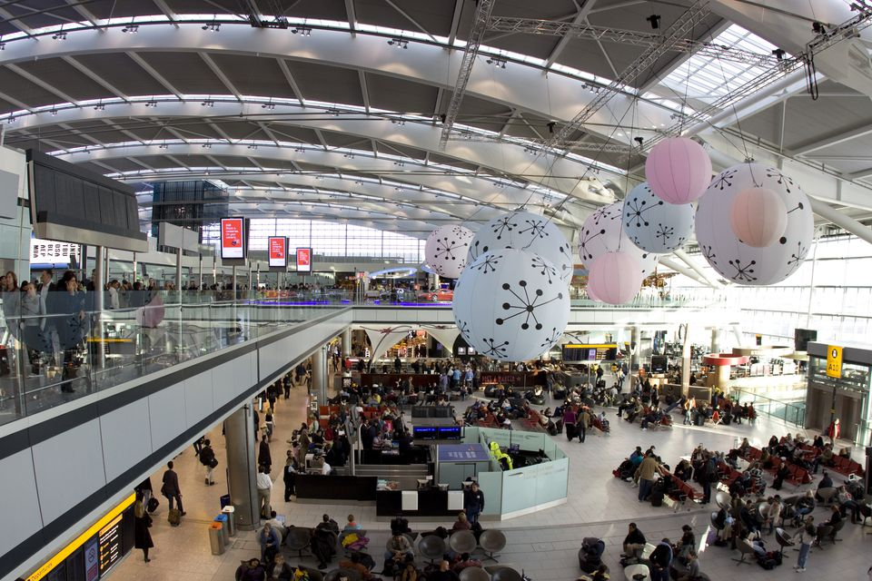 London Heathrow Airport's Terminal Five.