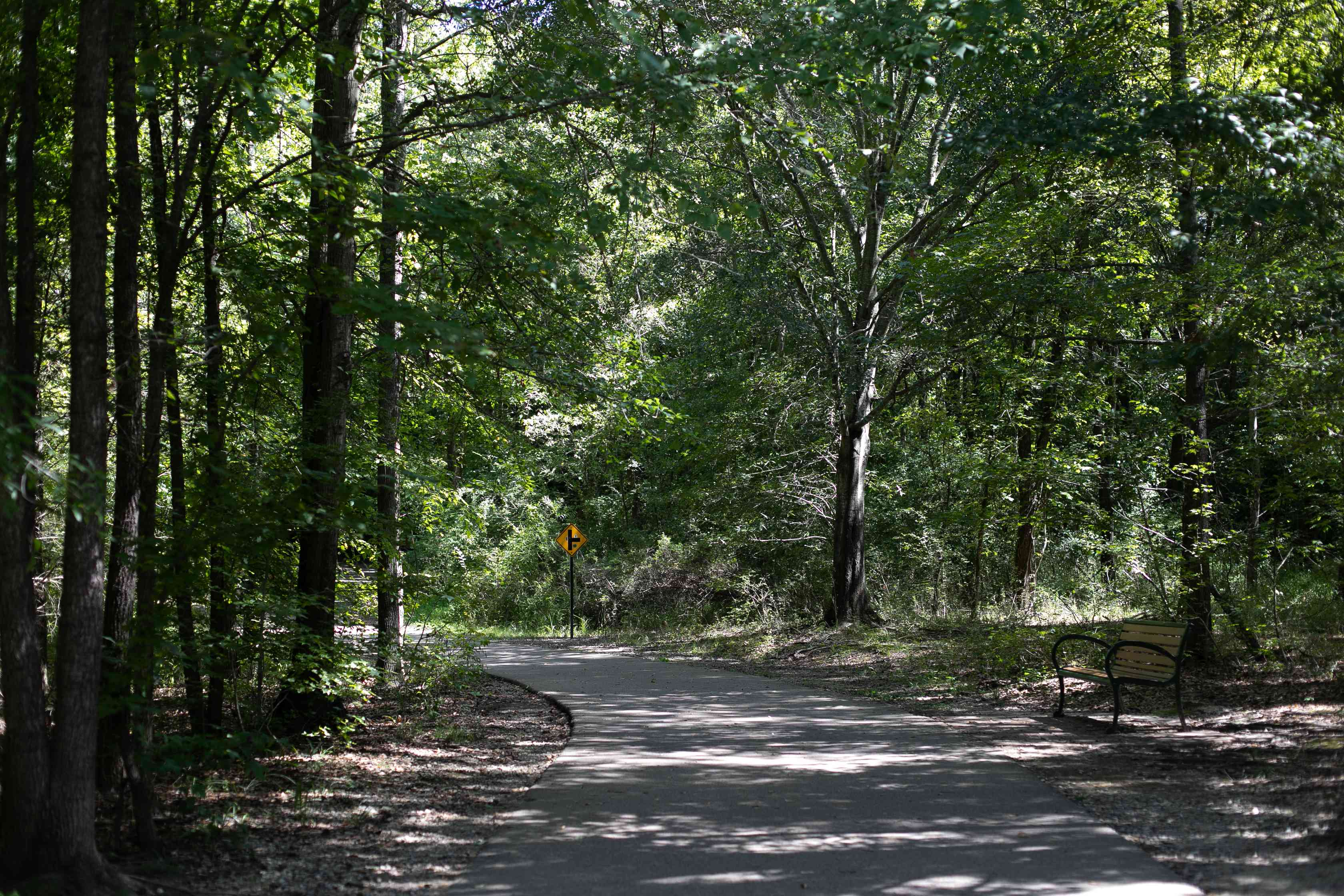 Wolf River Greenway in Memphis, Tennessee