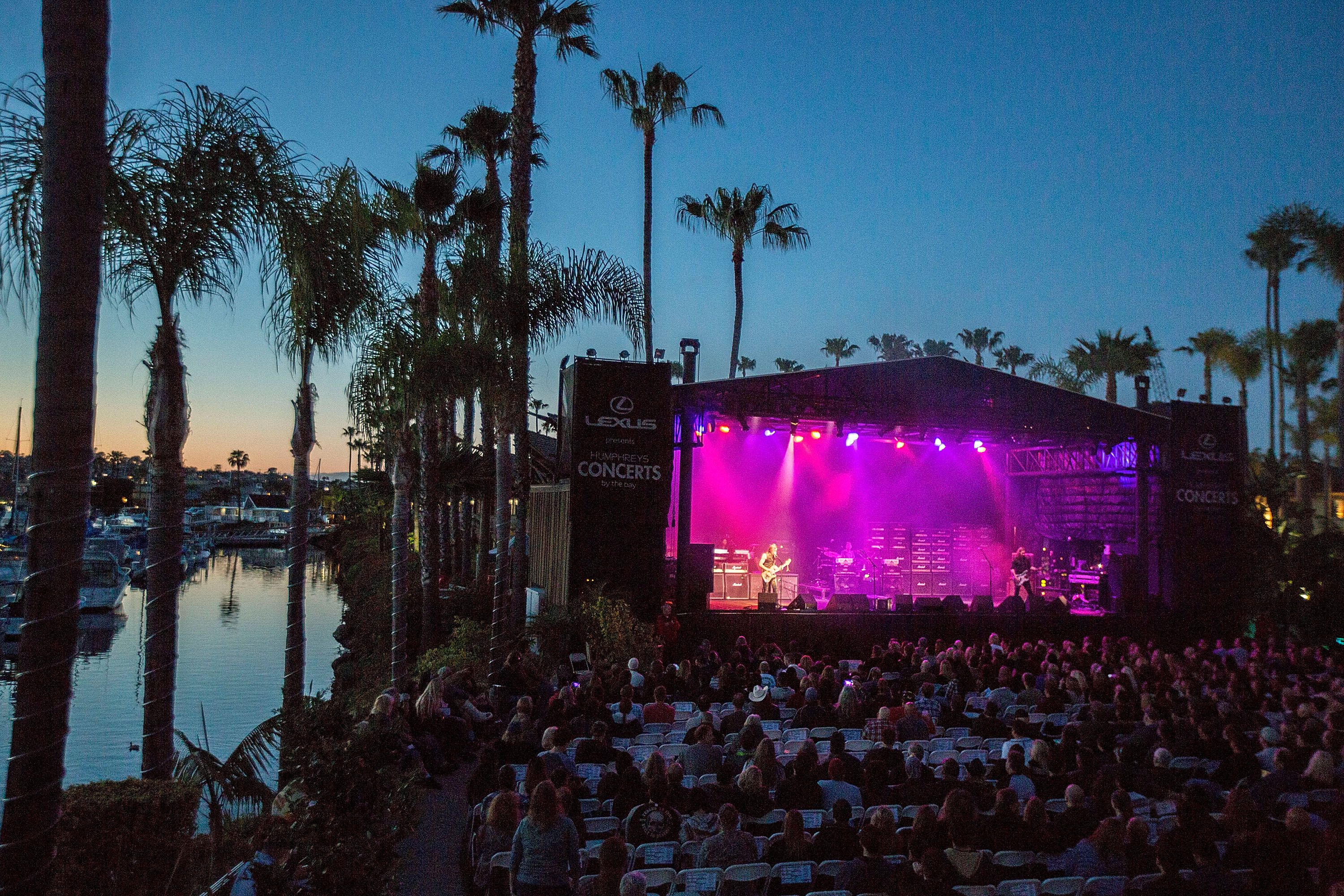 humphreys by the bay: summer concerts san diego