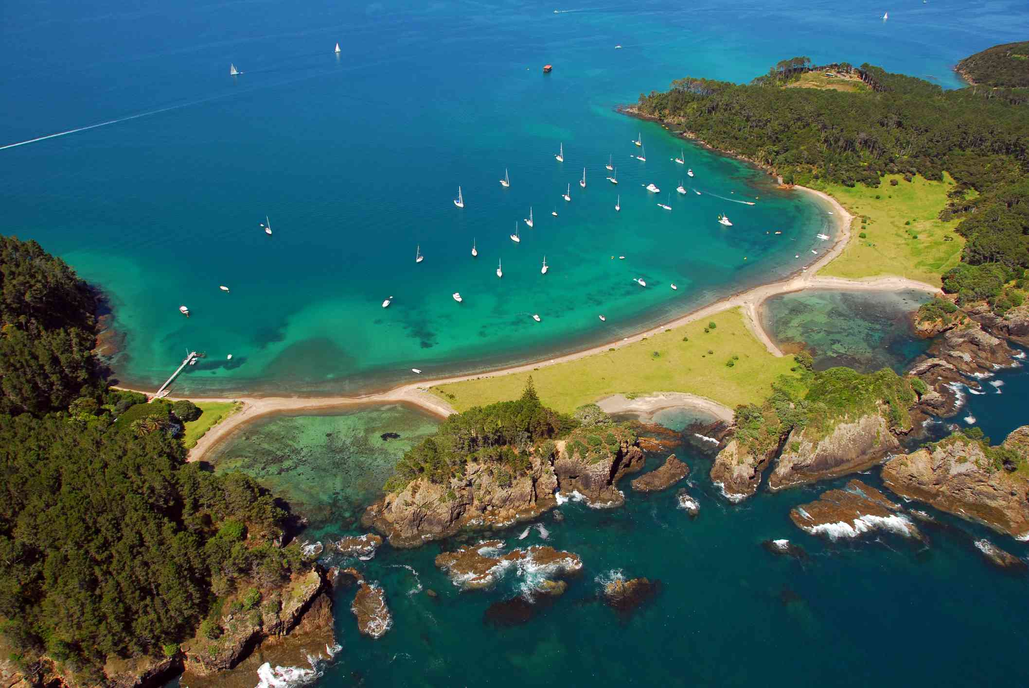 The Bay of Islands, Northland.