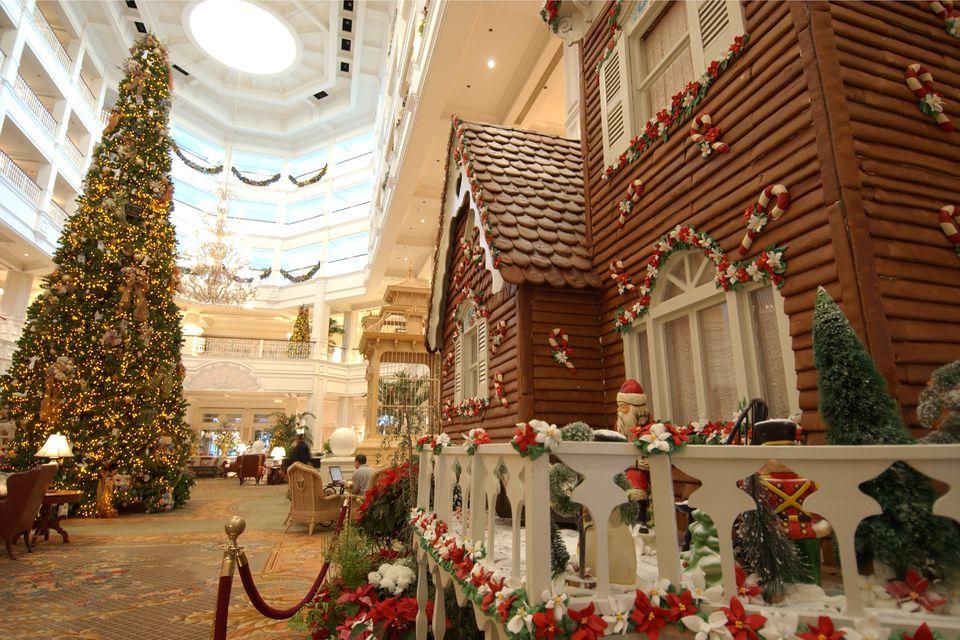 celebrate the holidays at disney worlds resorts