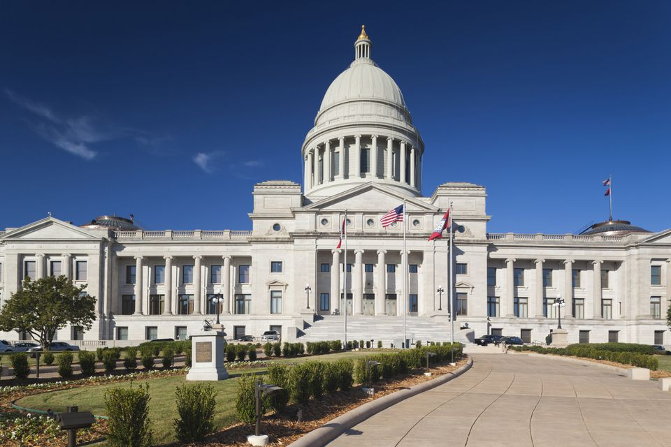 Capitol building, Little Rock, Arkansas