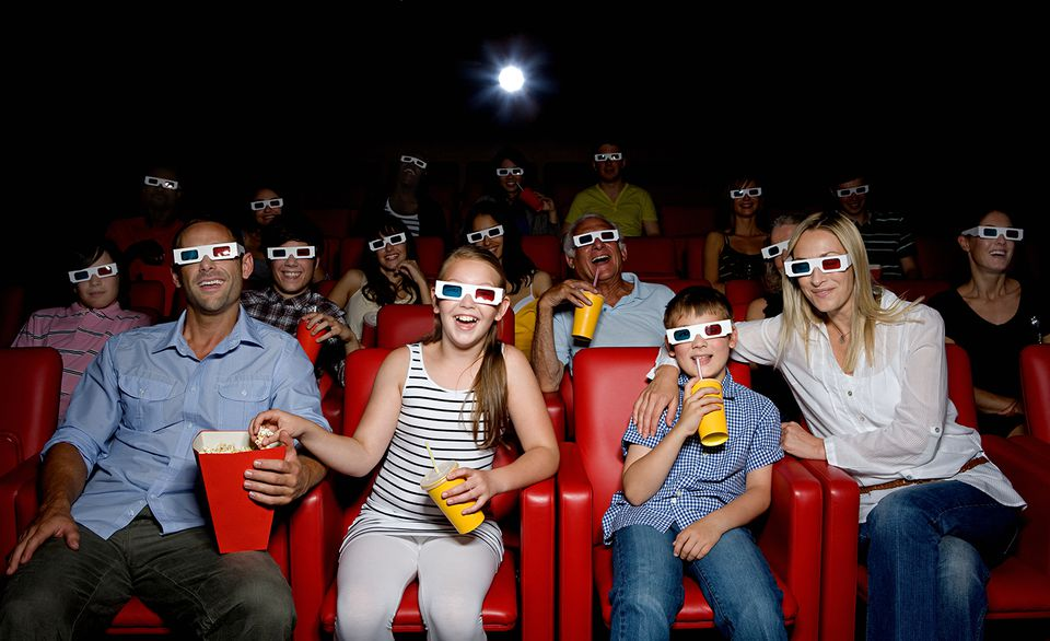 3D IMAX movie experience