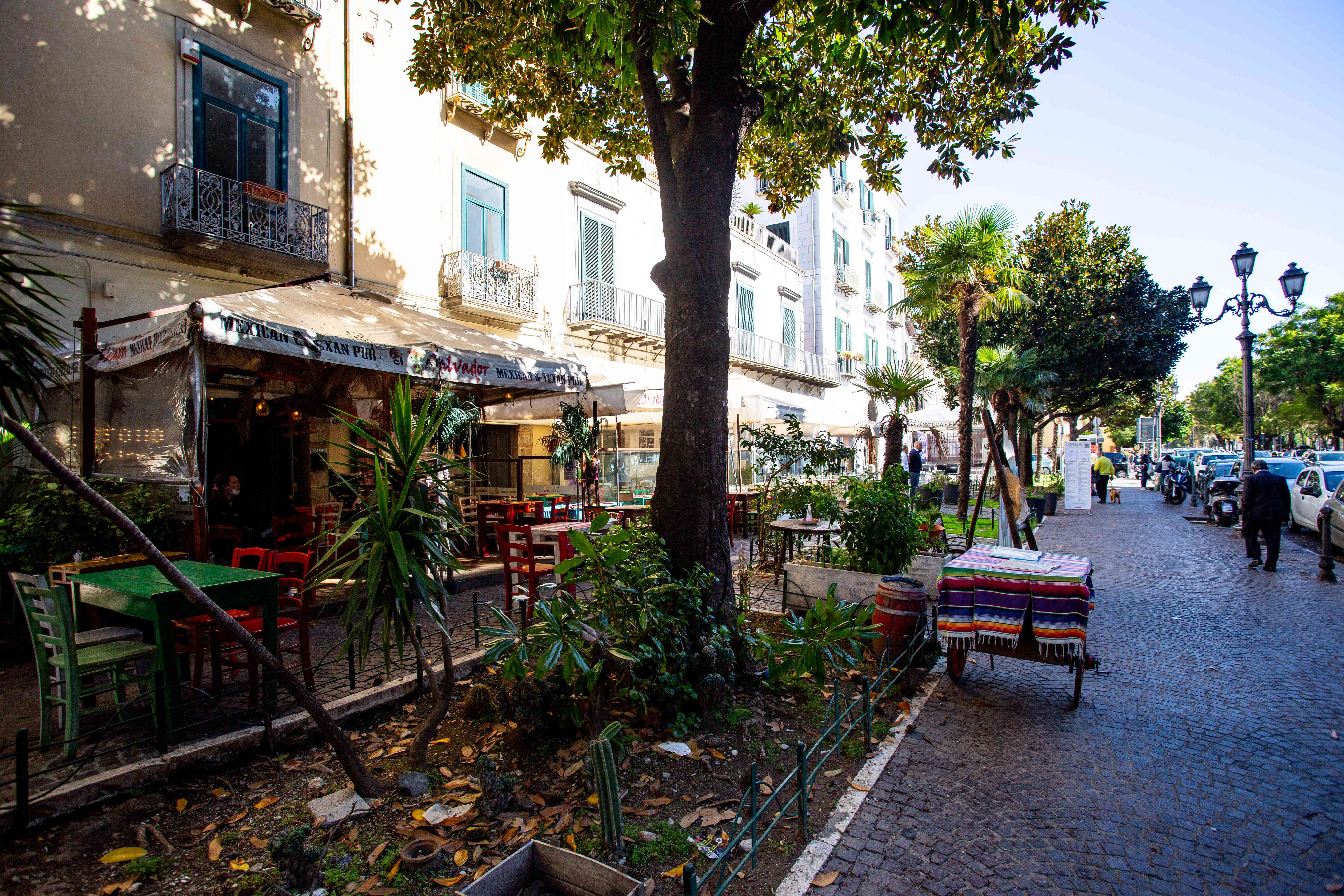 Promenade Trieste in Salerno