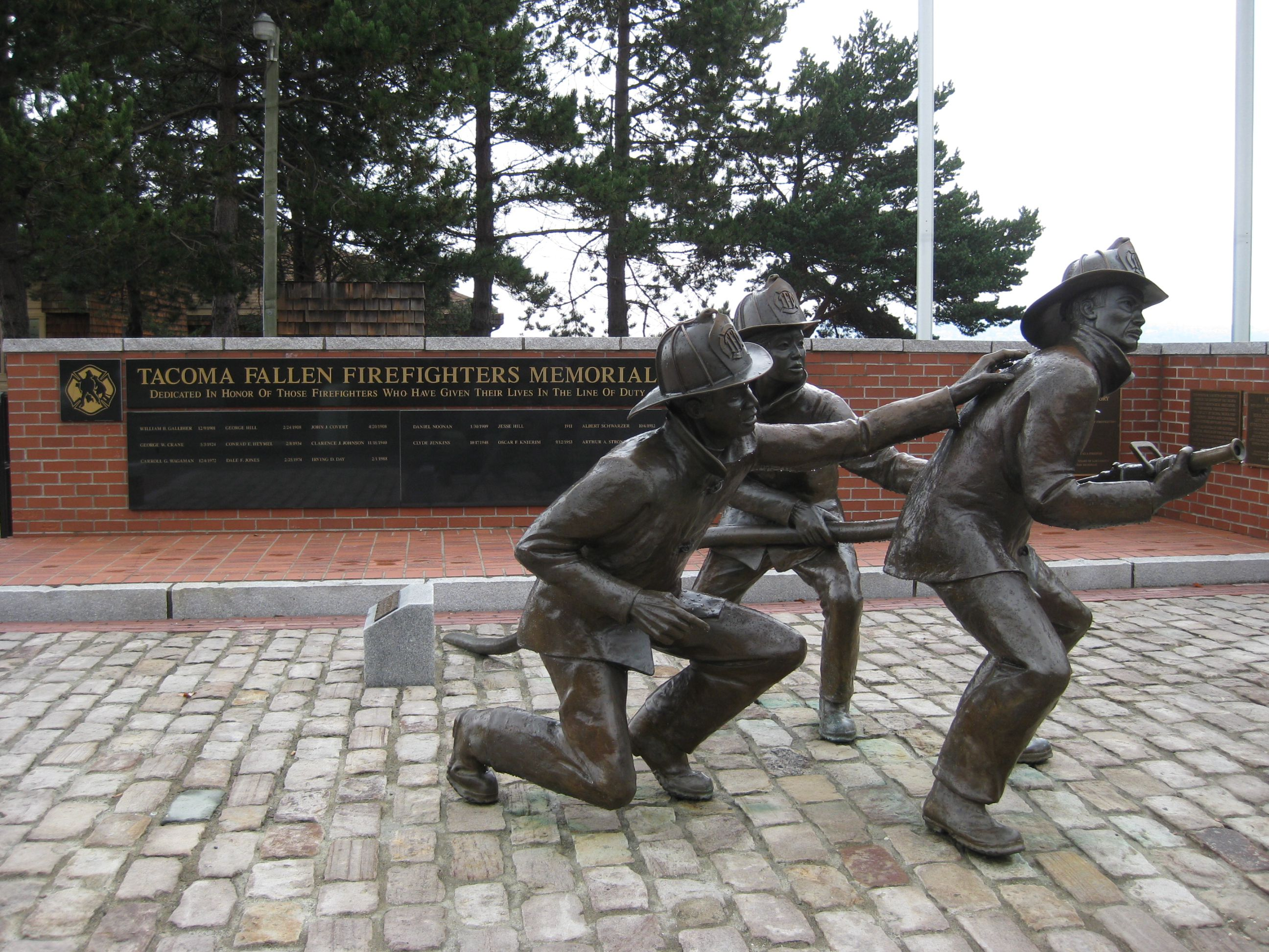 Firefighters Memorial Tacoma