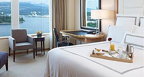 Habitación en el Pan Pacific Hotel Vancouver