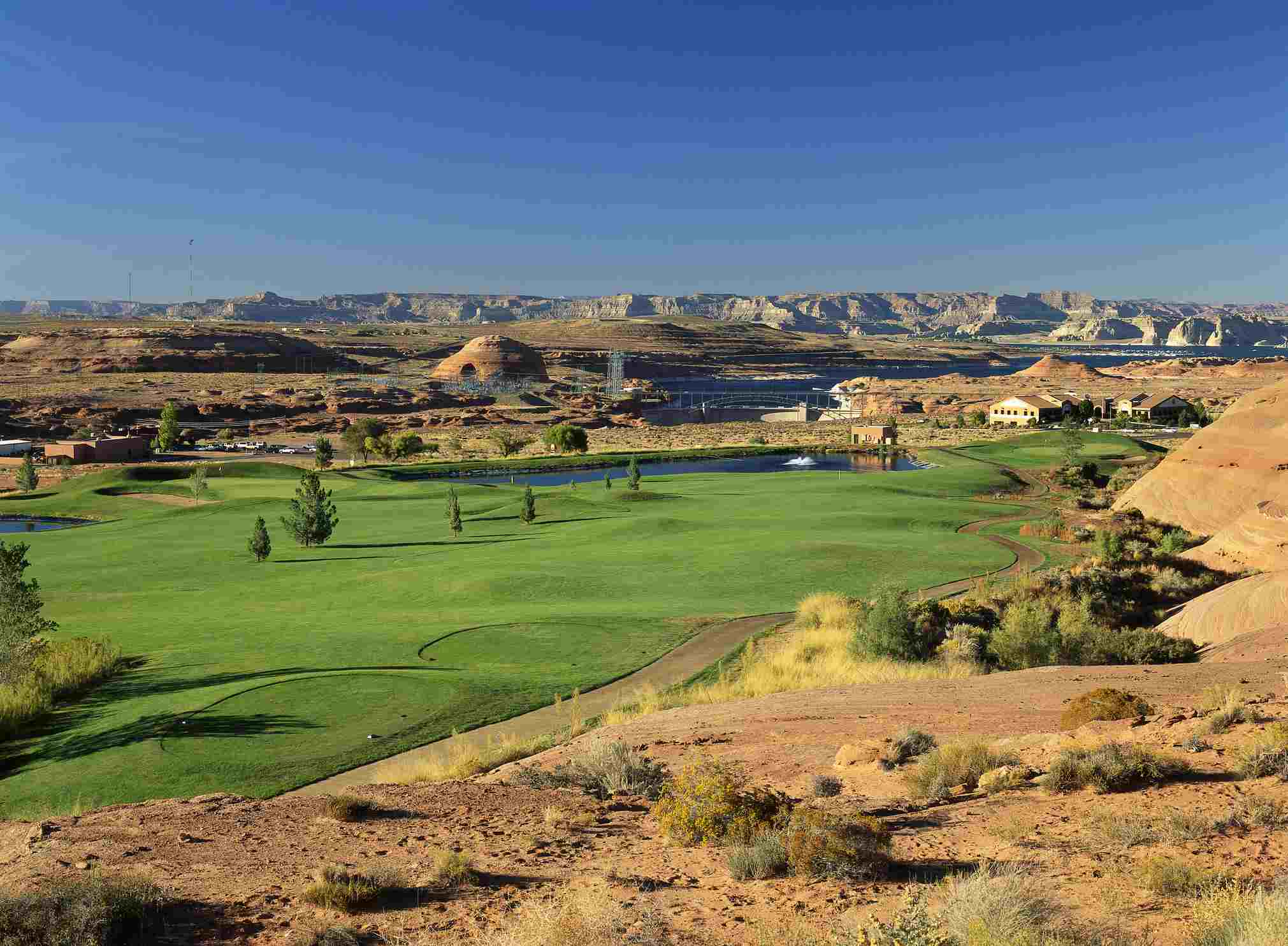 Fairway at Lake Powell National Golf Course