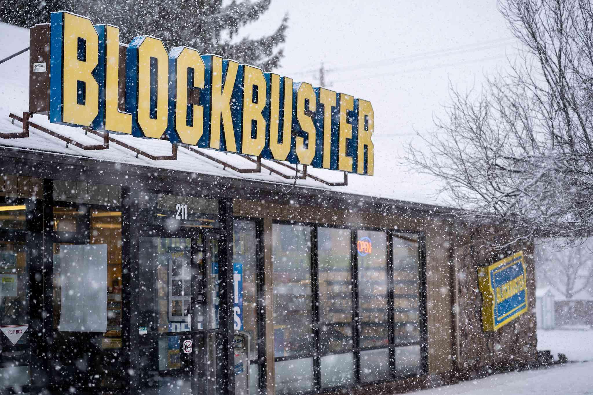 Blockbuster Bend, Oregon