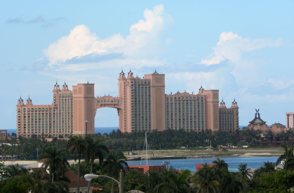 Atlantis Resort on Paradise Island near Nassau in the Bahamas