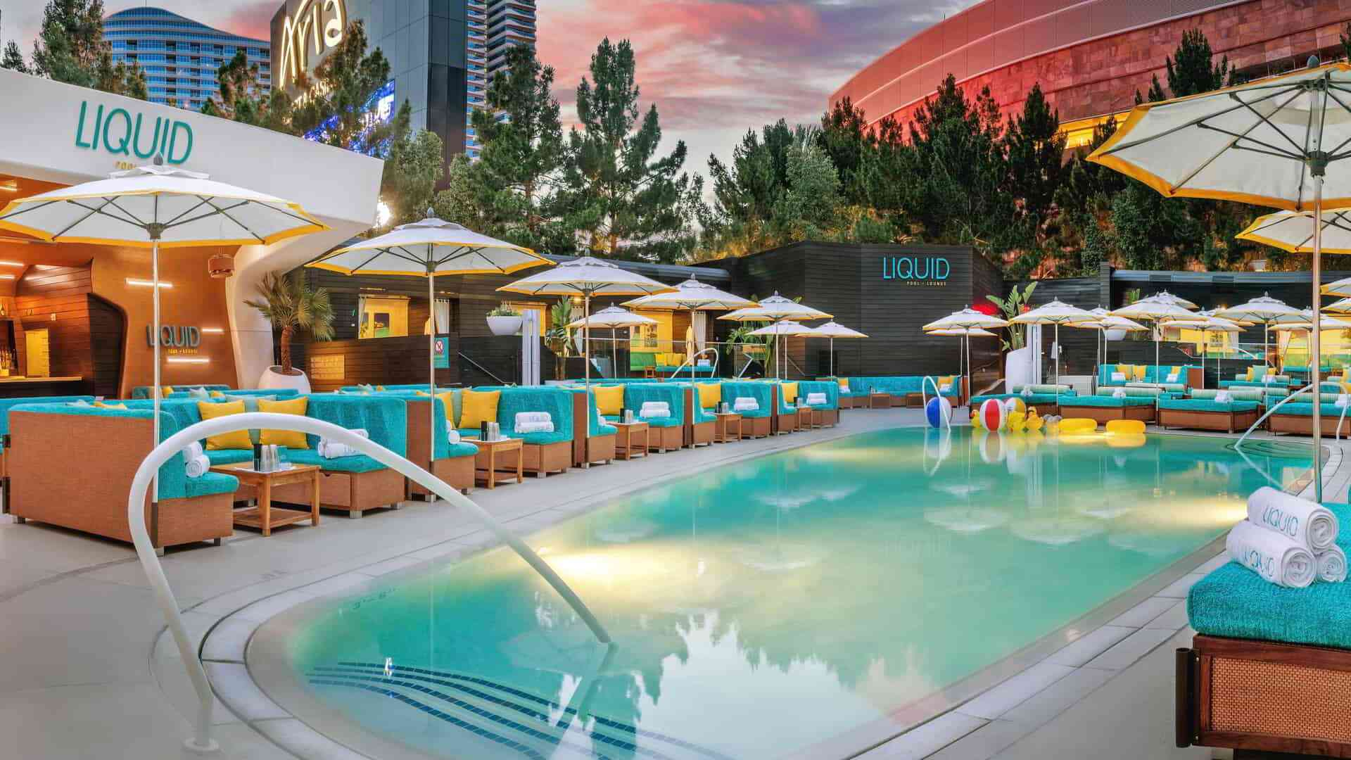 Aria Liquid pool bar