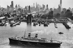 SS Independence in New York City