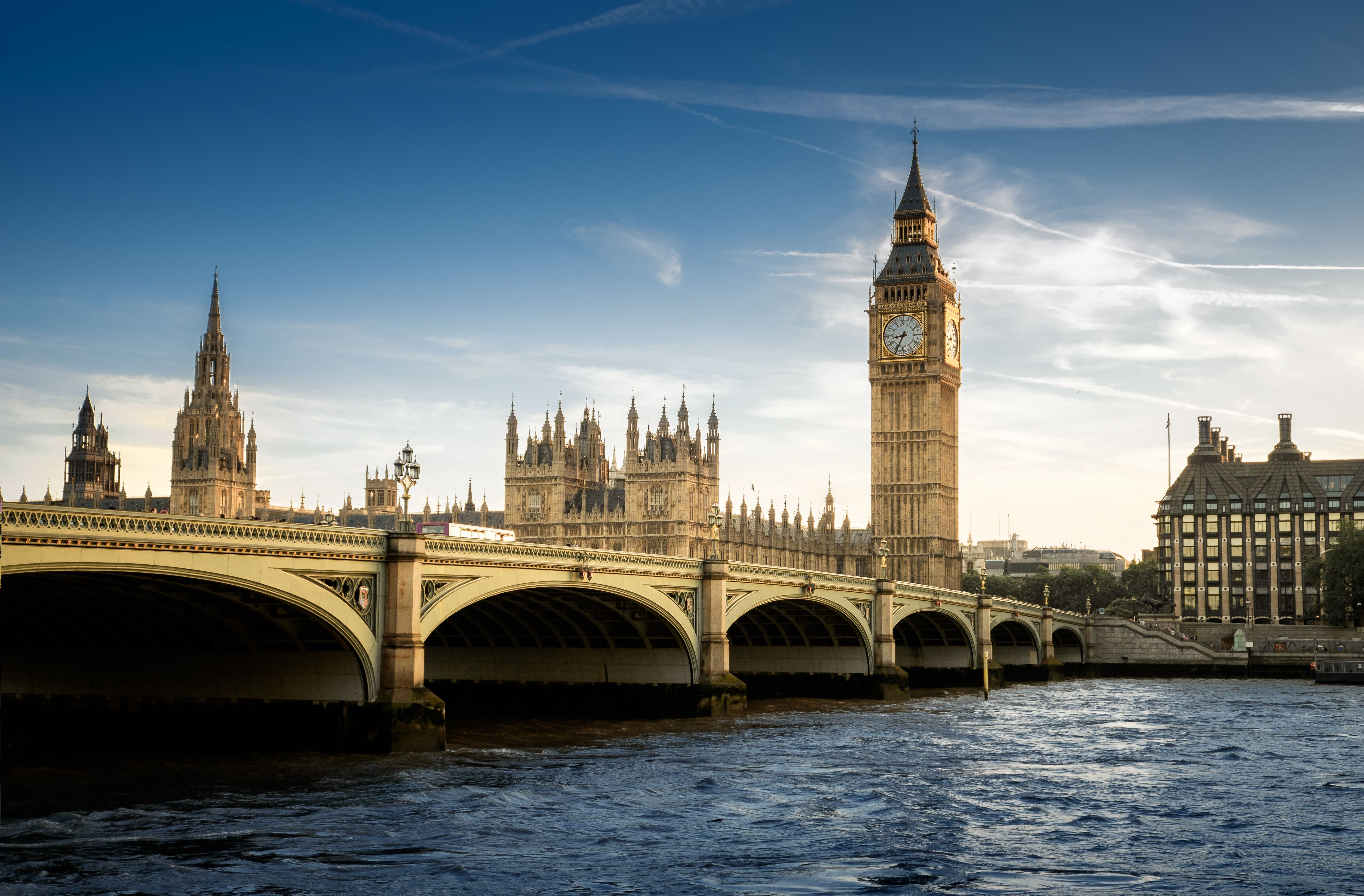 England Top Attractions Map and Guide