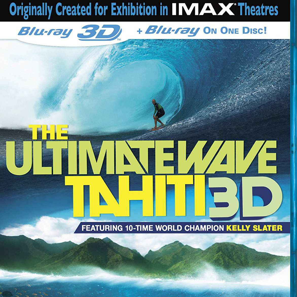The Ultimate Wave Tahiti 3D dvd cover