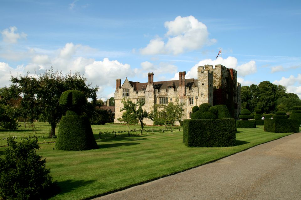Hever Castle in Kent, England