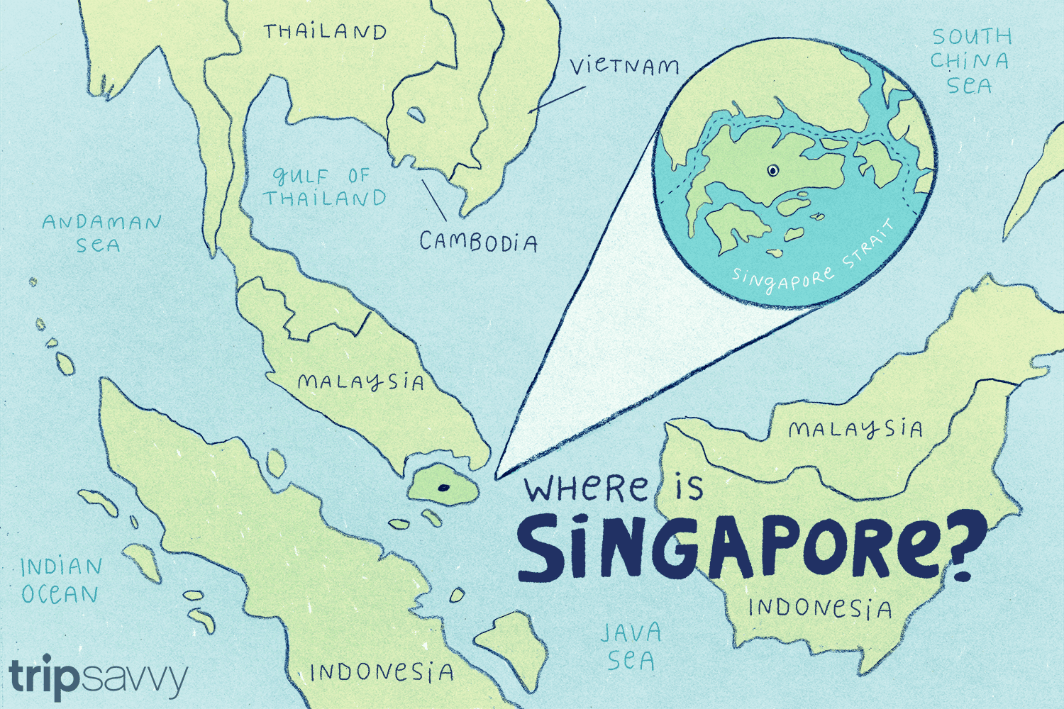 Singapore On World Map Where Is Singapore: Is It a City, Island, or Country?