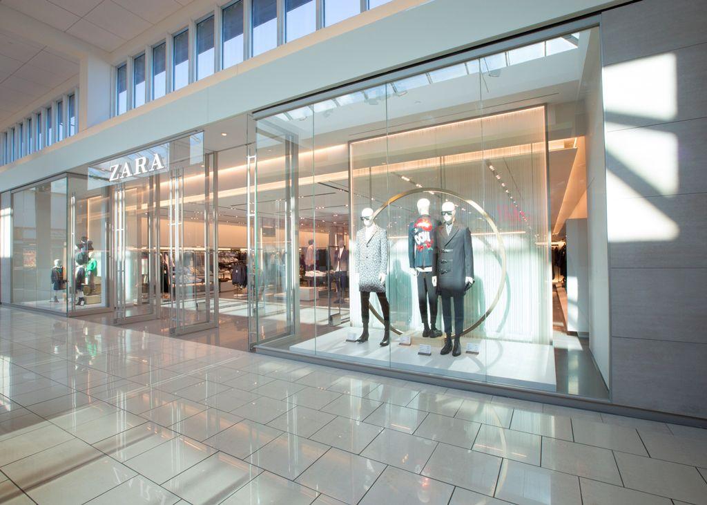 Zara storefront in Cherry Hill Mall