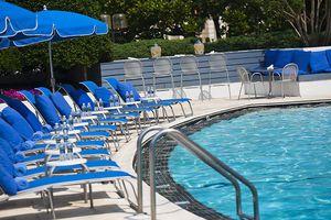 The pool at Washington Plaza Hotel