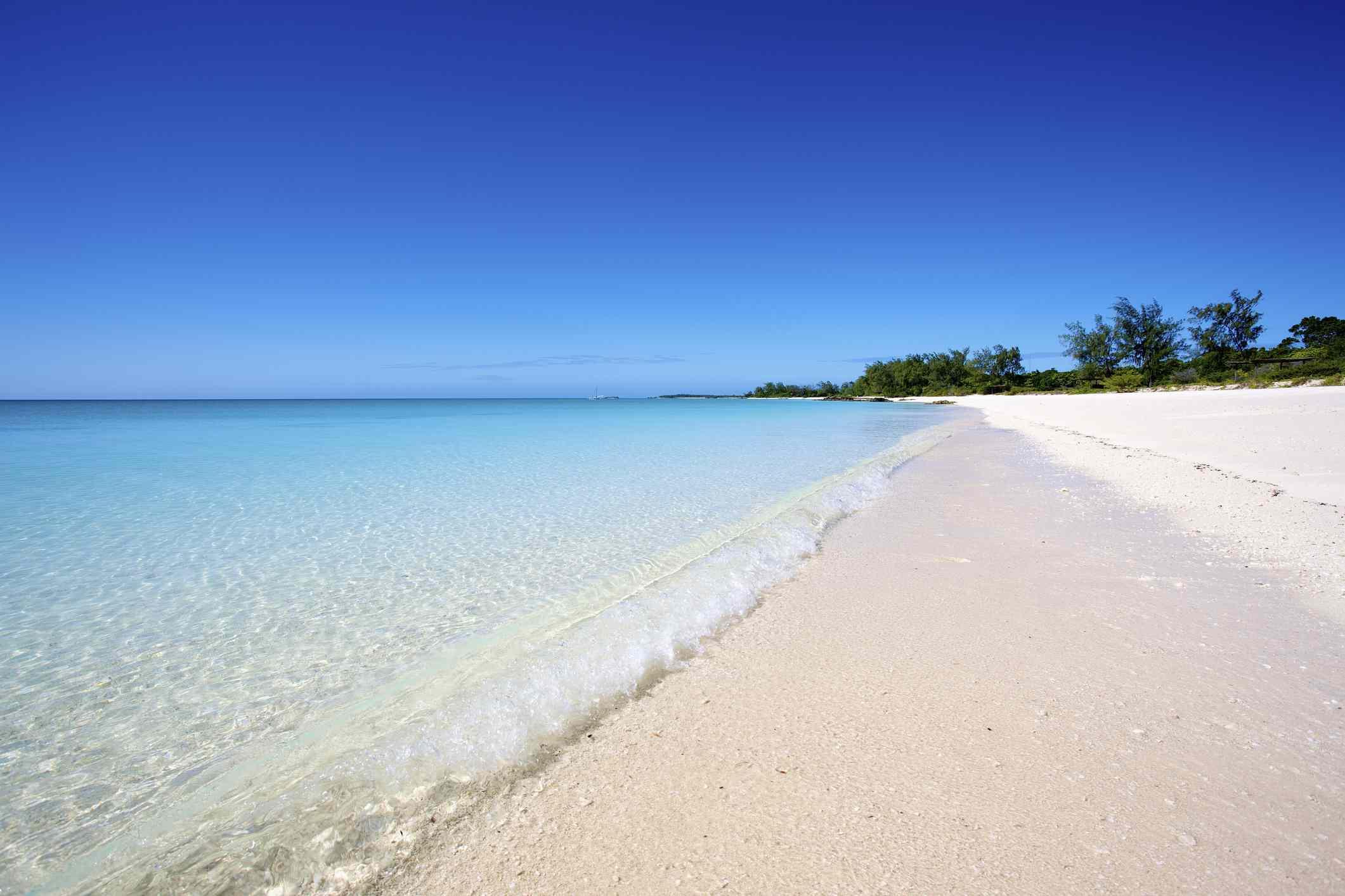 Tropical beach of Vamizi Island, Mozambique