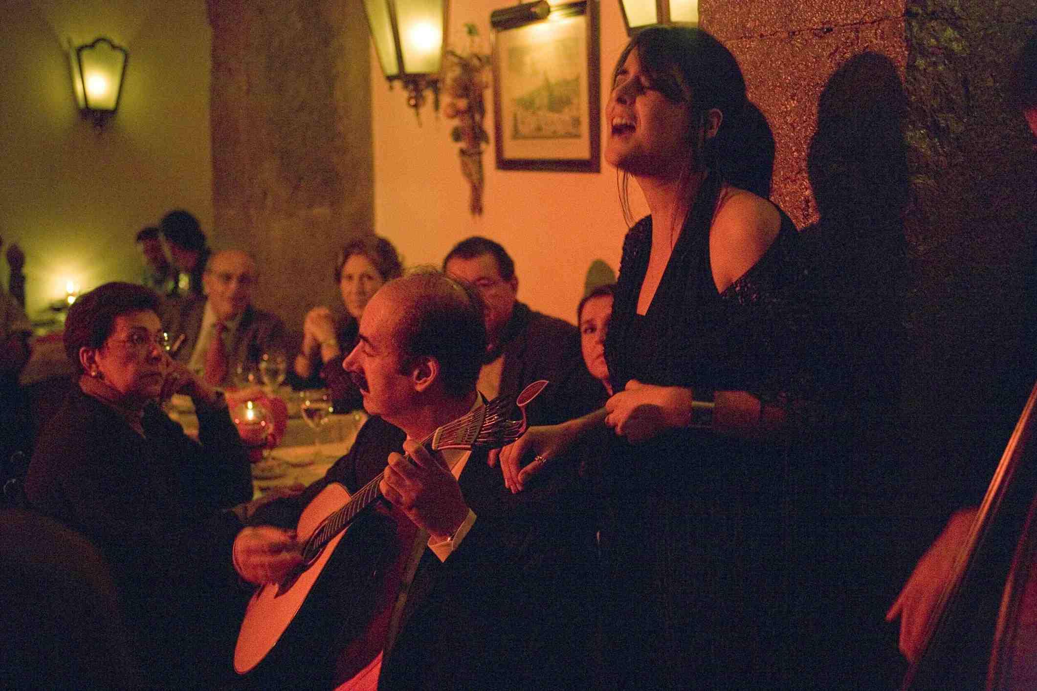 Fado performance in Lisbon