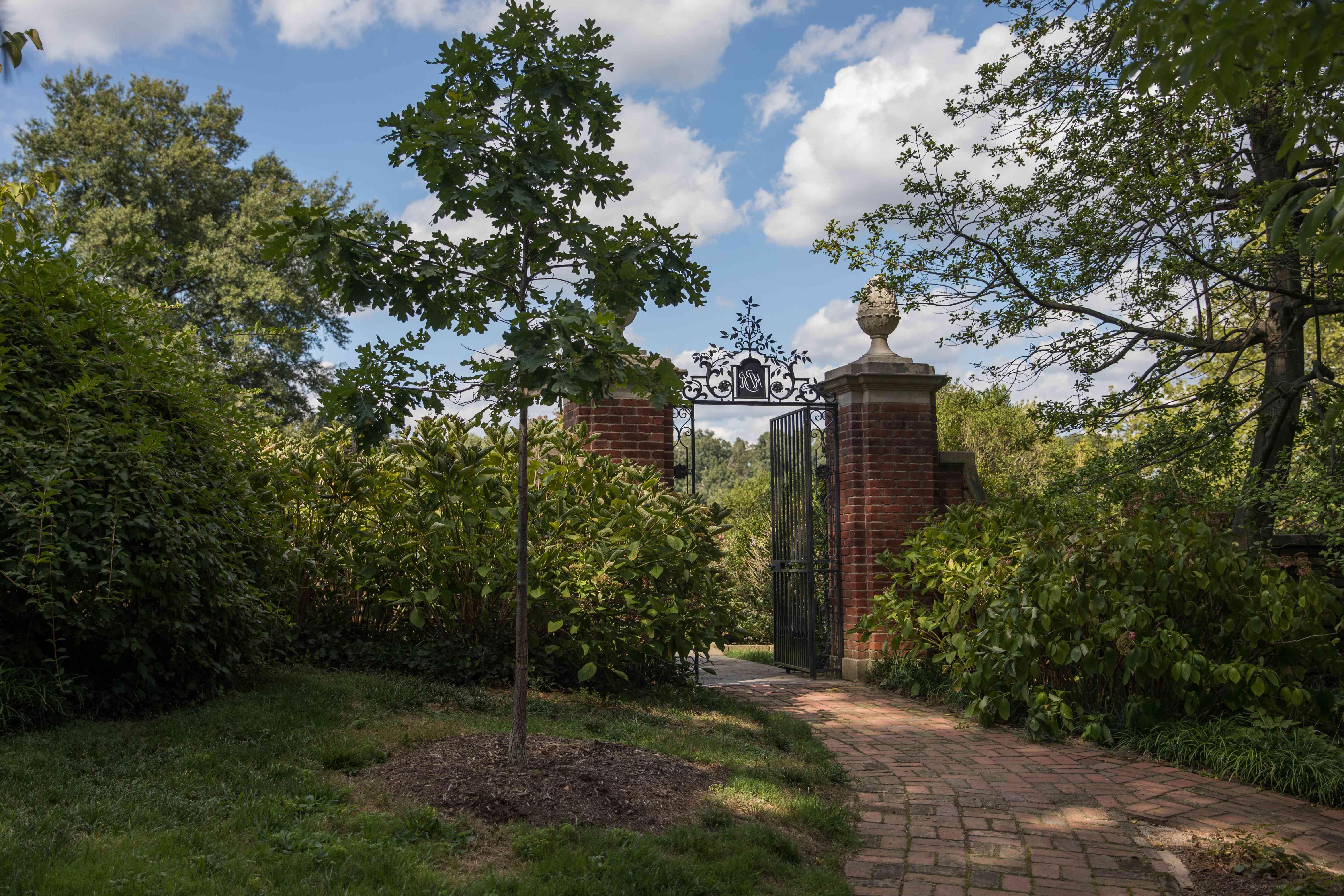 Gates to Dumbarton Oaks