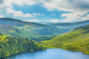 Lough Tay in County Wicklow, Ireland