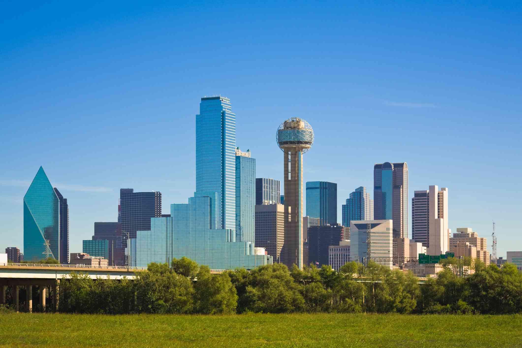 Horizonte de la ciudad de Dallas, Texas