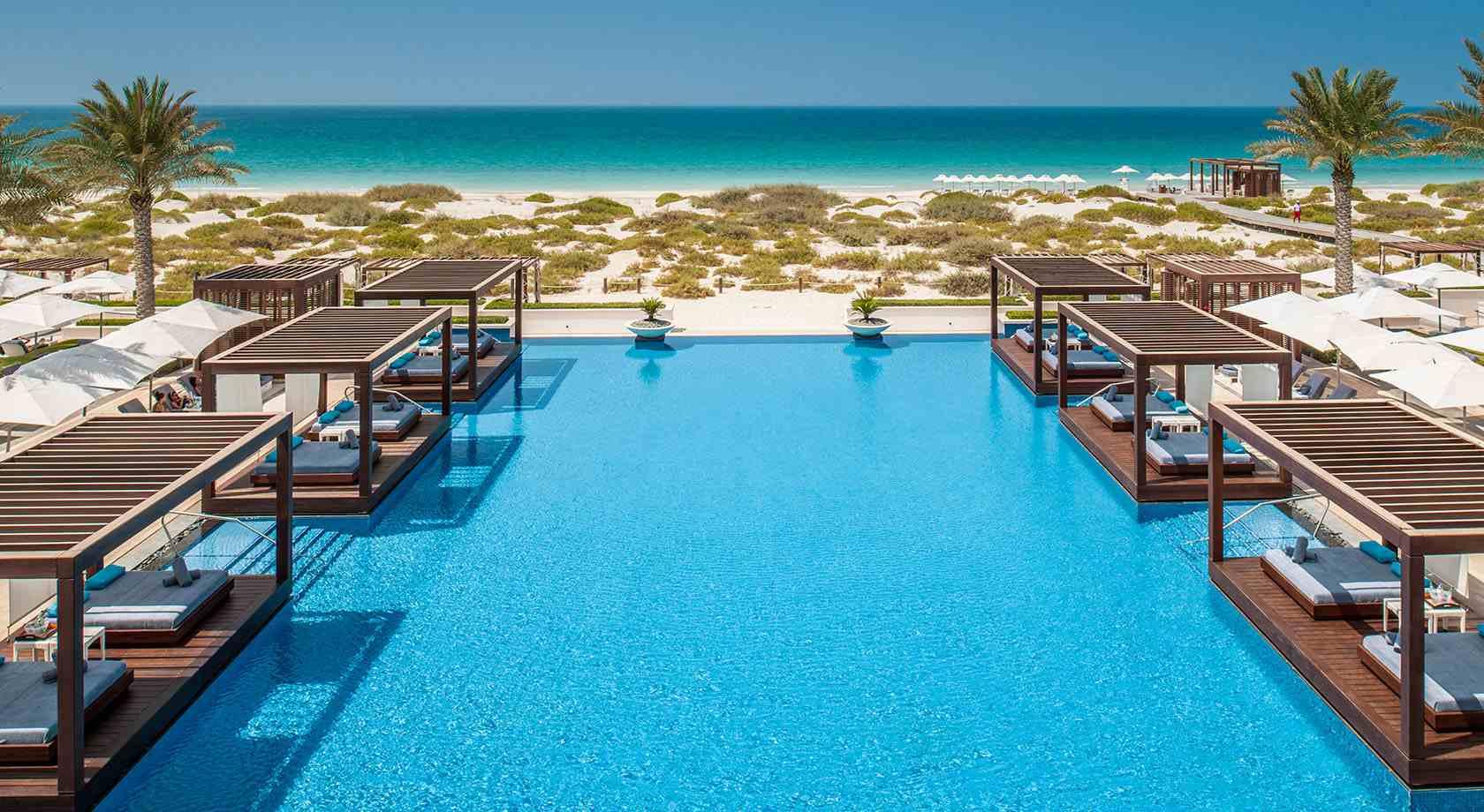 Saadiyat Beach Club Abu Dhabi UAE
