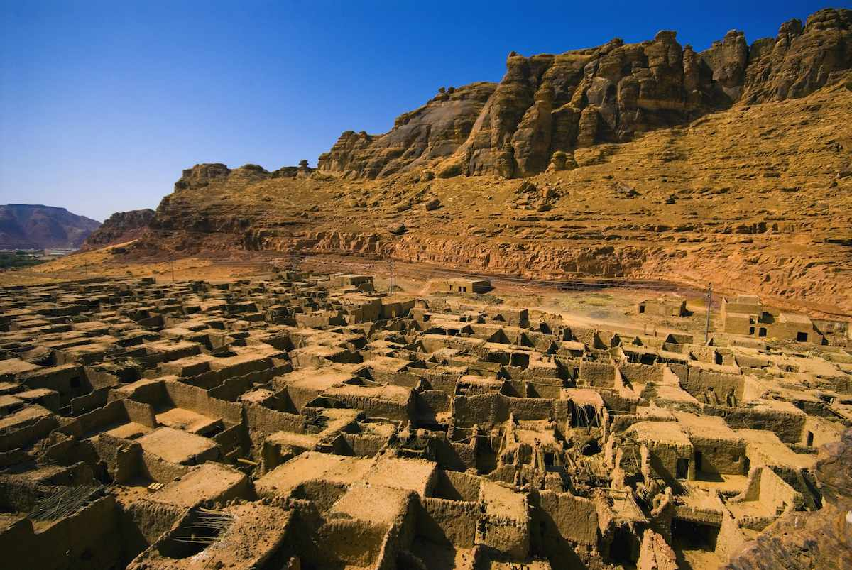 A 2000-year old abandoned desert town.