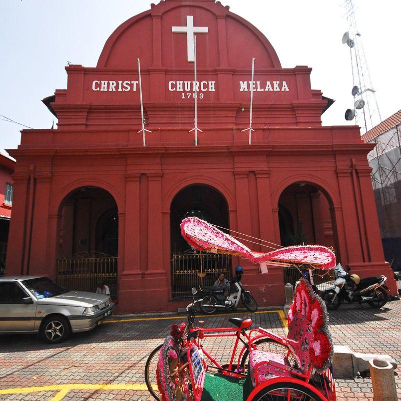 Exterior of Christ Church